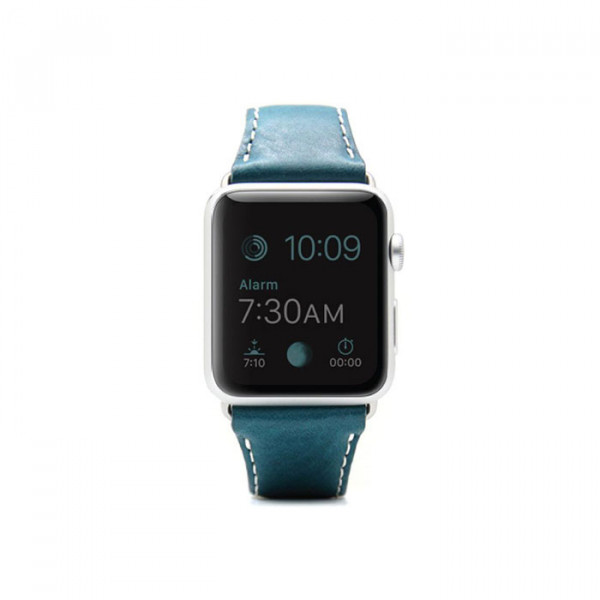 Apple watch 38mm Leather strap SLG D6 blue