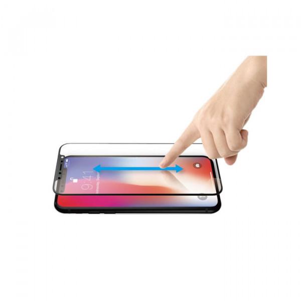 محافظ صفحه نمایش جاست موبایل مدل Xkin 3D full coverage Tempered Glass برای گوشی موبایل اپل مدل iPhone X