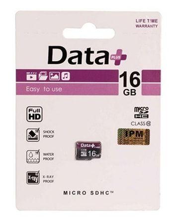 Data Plus MicroSDHC Card