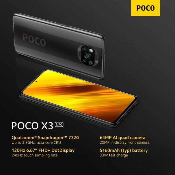 گوشی Poco X3 شیائومی