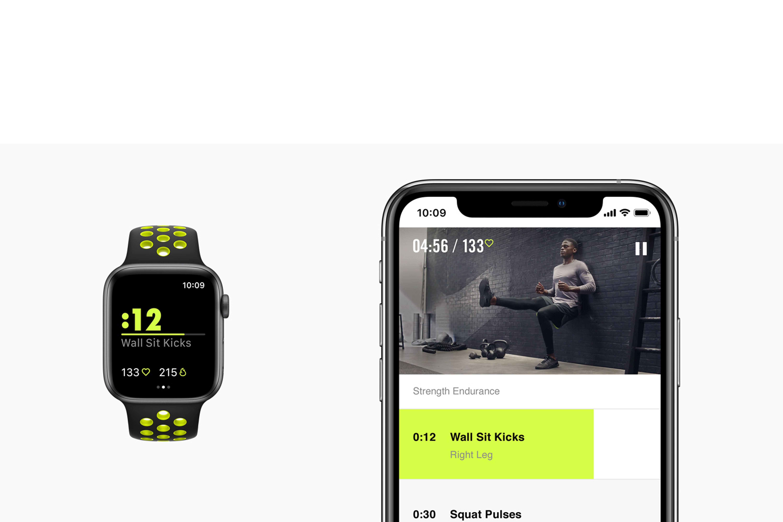 ساعت هوشمند نایک پلاس سری ۴ اپل