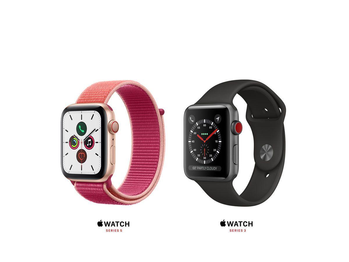 ساعت هوشمند سری ۵ اپل