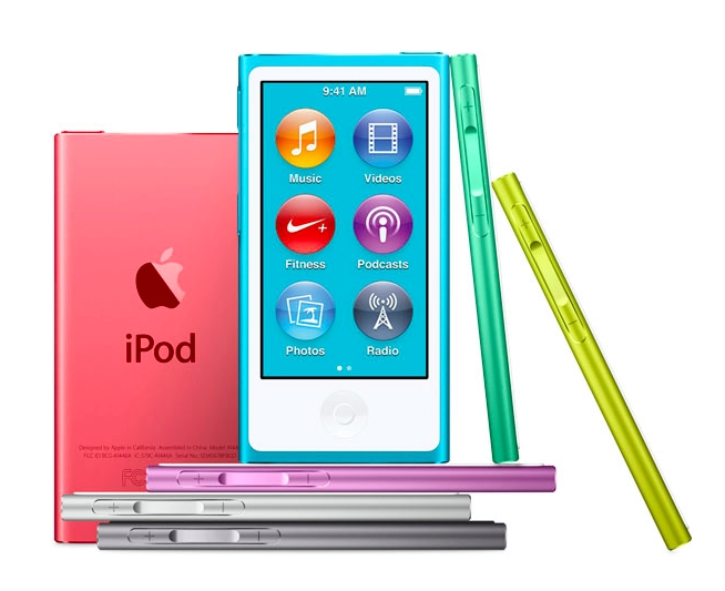 iPod Nano All Colors