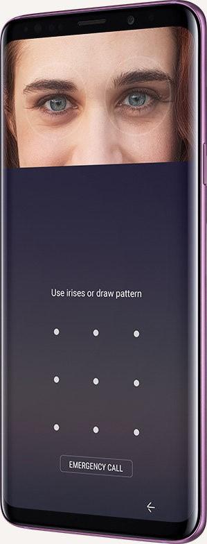 Galaxy S9 Iris Scanner