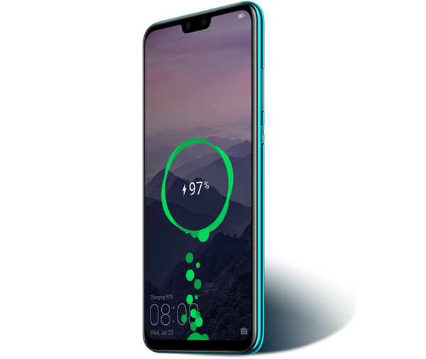 Huawei Y9 2019 battery life